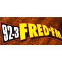 Logo of radio station CFRK Fred 92.3 FM