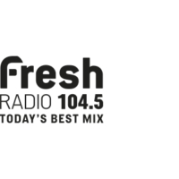 Logo of radio station CFLG-FM 104.5 Fresh Radio