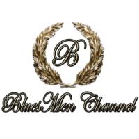 Logo of radio station BluesMen Channel (Gold)