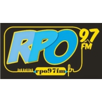 Logo of radio station R.P.O 97fm