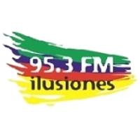 Logo of radio station LU24 95.3 FM Illusiones