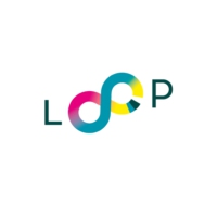 Logo of radio station LOOP