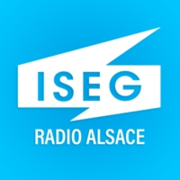 Logo of radio station ISEG Radio Alsace