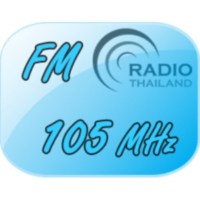 Logo of radio station สถานีวิทยุกระจายเสียงแห่งประเทศไทย FM 105 MHz