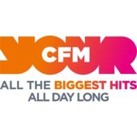 Logo of radio station CFM