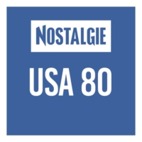 Logo of radio station Nostalgie USA 80