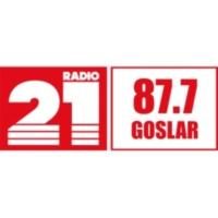 Logo of radio station RADIO 21 - Goslar
