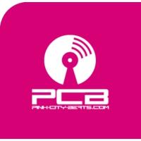 Logo de la radio Pink City Beats PCB