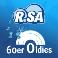 Logo of radio station R.SA 60er Oldies