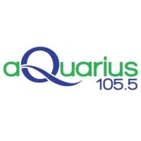 Logo of radio station Aquarius 105.5