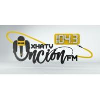 Logo de la radio XHATV Unción FM 104.3