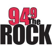 Logo de la radio CKGE-FM 94.9 The Rock FM