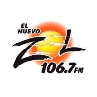 Logo de la radio WXDJ El Zol 106.7