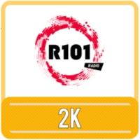 Logo of radio station R101 2K