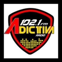 Logo of radio station XHCMM Adictiva 102.1 FM