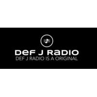 Logo de la radio Def J radio