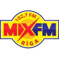 Logo de la radio Mix FM 102.7