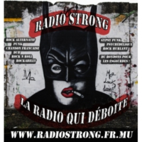 Logo of radio station La Radio Strong