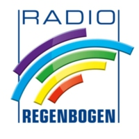 Logo of radio station Radio Regenbogen Just Black