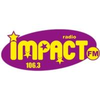 Logo of radio station Impact Fm annees 80