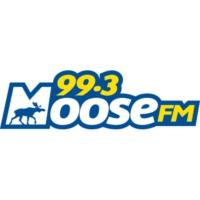 Logo of radio station CFSF-FM Moose 99.3