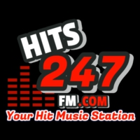 Logo de la radio Hits247fm
