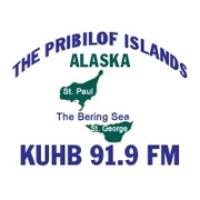 Logo of radio station KUHB 91.9 FM