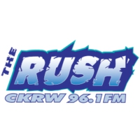Logo of radio station CKRW-FM The Rush
