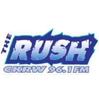 Logo de la radio CKRW-FM The Rush
