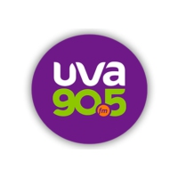 Logo of radio station XHUVA UVA 90.5