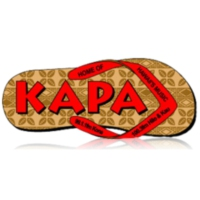Logo of radio station KAGB Kapa Radio
