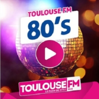 Logo of radio station TOULOUSE FM   * 80's *