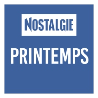 Logo of radio station Nostalgie Printemps