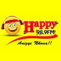 Logo de la radio Happy98.9FM