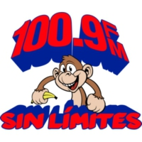 Logo of radio station XHSM-FM Sin Limites 100.9