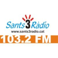 Logo de la radio Sants 3 Ràdio