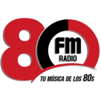 Logo of radio station FM RADIO 80