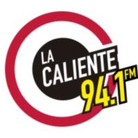 Logo of radio station XET-FM La Caliente 94.1