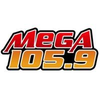 Logo of radio station XHNA-FM Mega 105.9