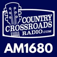 Logo of radio station AM1680 Country Crossroads