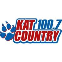 Logo de la radio Kat Country 100.7 KATJ