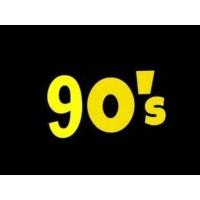 Logo of radio station KISS FM 90's