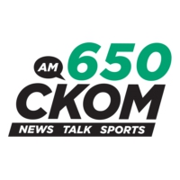 Logo of radio station 650 CKOM