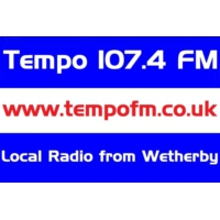 Logo of radio station Tempo 107.4 FM