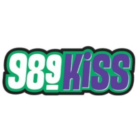 Logo of radio station KYIS 98.9 KISS FM