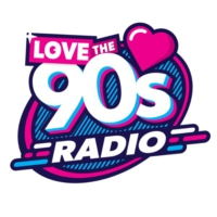 Logo of radio station Love The 90s Radio