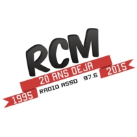 Logo of radio station RCM 97.6 FM