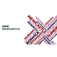 Logo of radio station BBC Radio Newcastle