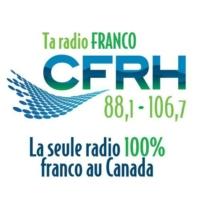 Logo of radio station CFRH 88.1
