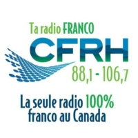 Logo of radio station CFRH 88.1